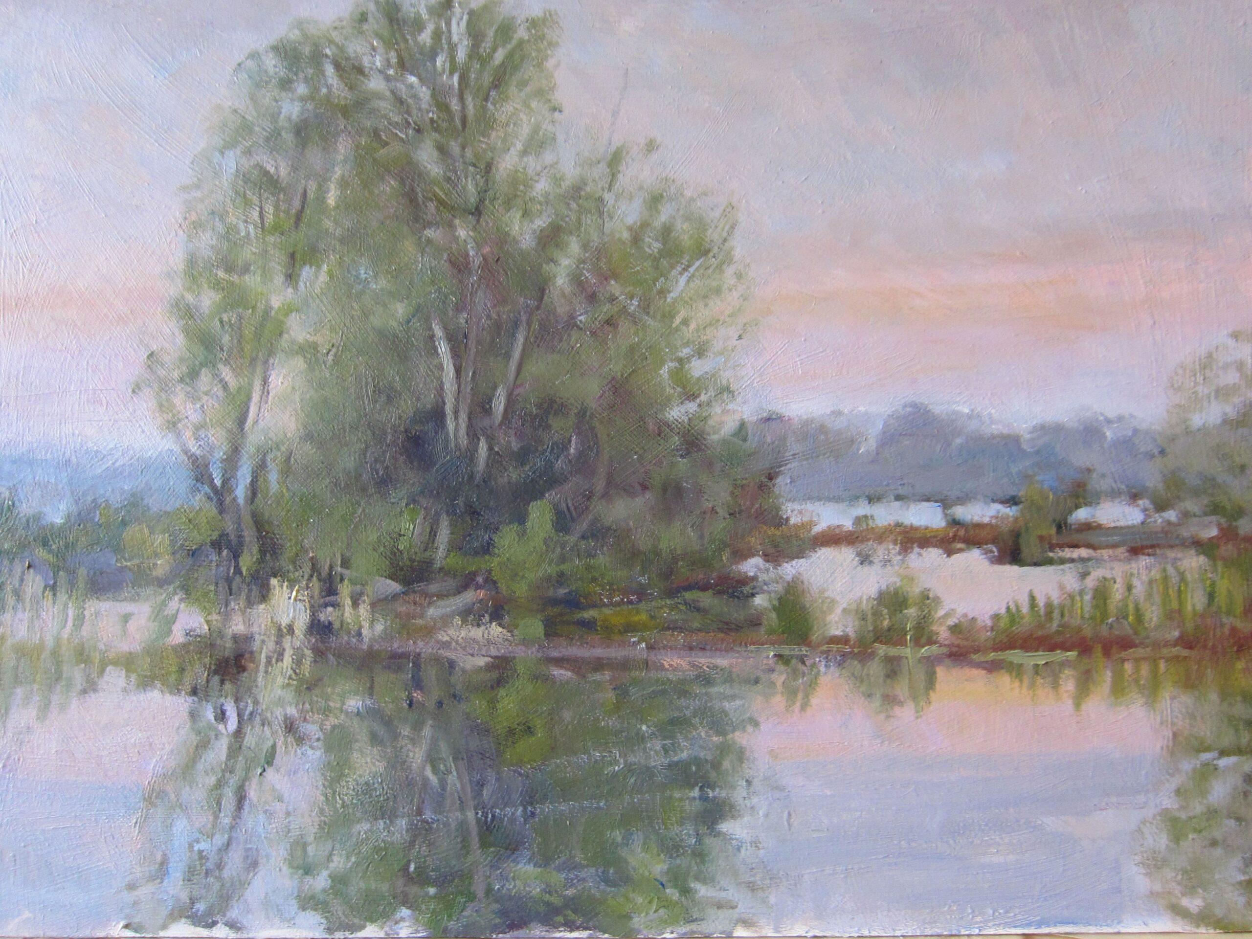 St Ives lake